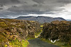 Þingvellir national park.