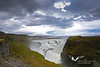 "The ""golden waterfall"" Gullfoss."