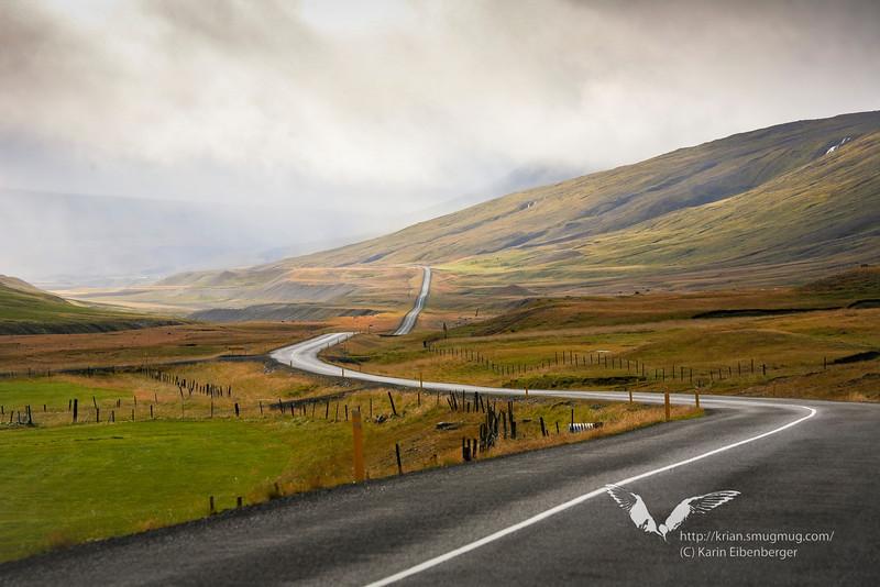 Street No. 1 in northeast Iceland.