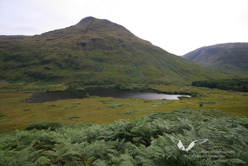 In the highlands. Glen Etive.