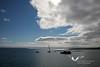 Scapa Flow. Orkney Islands.