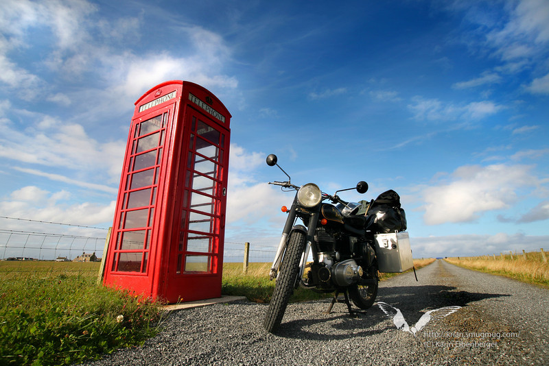 In the north of Scotland. Near John O'Groats.