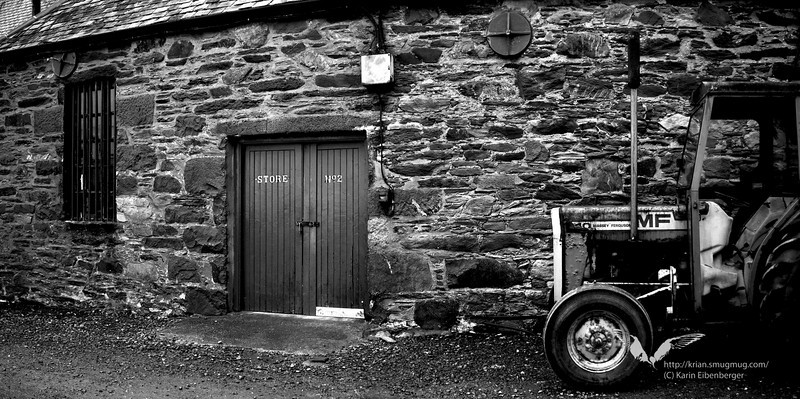 At Ardbeg. Isle of Islay.
