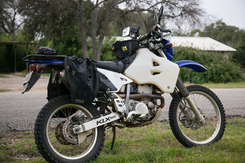 DR-Z400S Adventure – Texas Adventure
