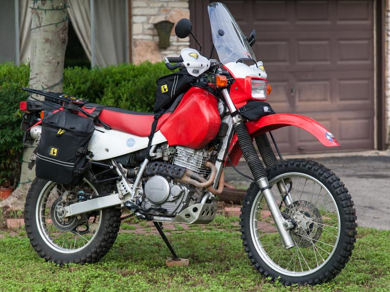 Hot Rod Honda Texas Adventure