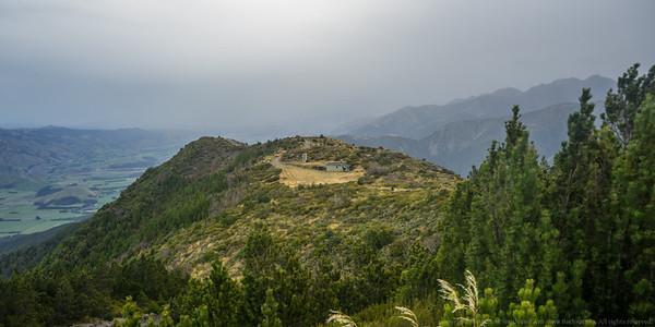 The Mt Fyffe hut.