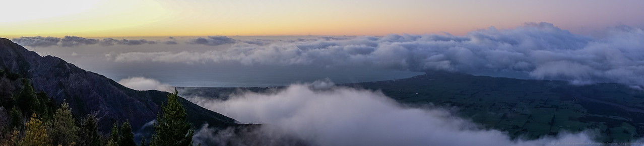 Dawn light over Kaikoura.