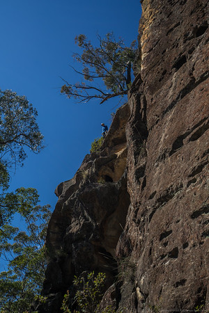 Smiffy has found a pass up the northern nose of Mount Marrup.