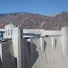 Driving across the Hoover Dam