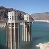 The Hoover Dam intake towers