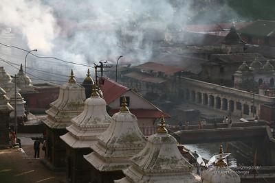 Pashupatinath ghats, Kathmandu.
