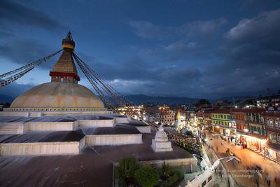Boudhanath stupa, Kathmandu.