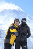 Bernhard and me on French Col.