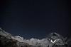 Stars above Annapurna. Annpurna Base Camp Trek.