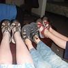 3 pairs of Keens ready to trek around the world