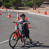 Finishing the cycling
