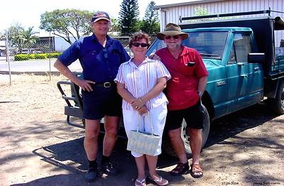 Ian & Karen Davis with Lofty