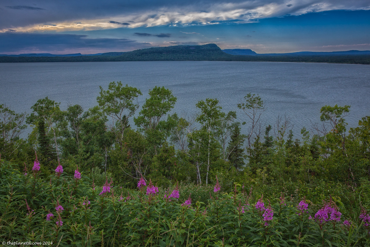 The diverse Landscapes of Lake Superior