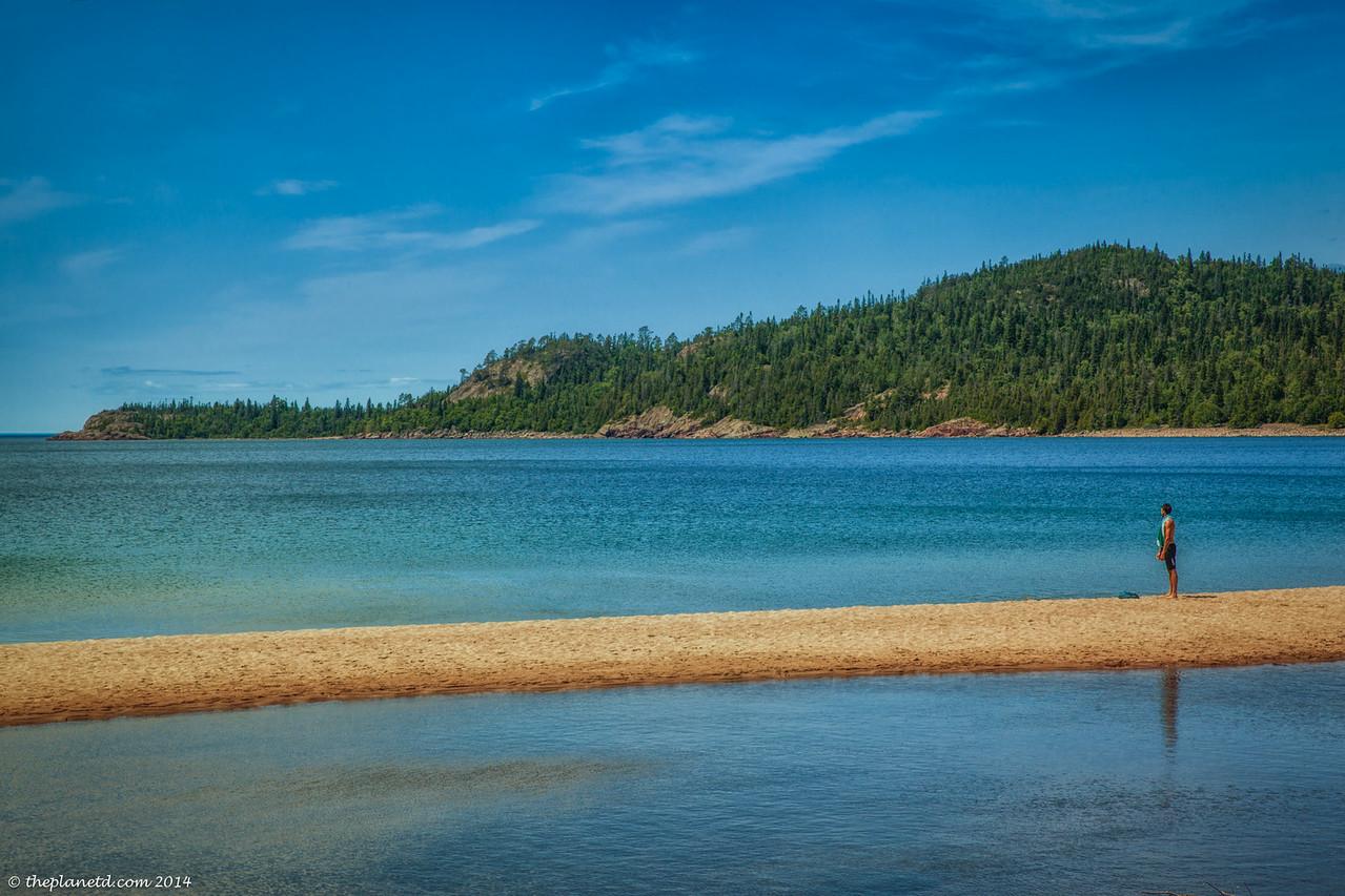 The views of Lake Superior were beautiful around every corner.