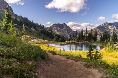 Pacific Crest Trail, Washington, USA