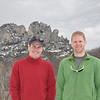 Brad and I at Seneca Rocks
