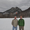Dad and I at Seneca Rocks on the way home