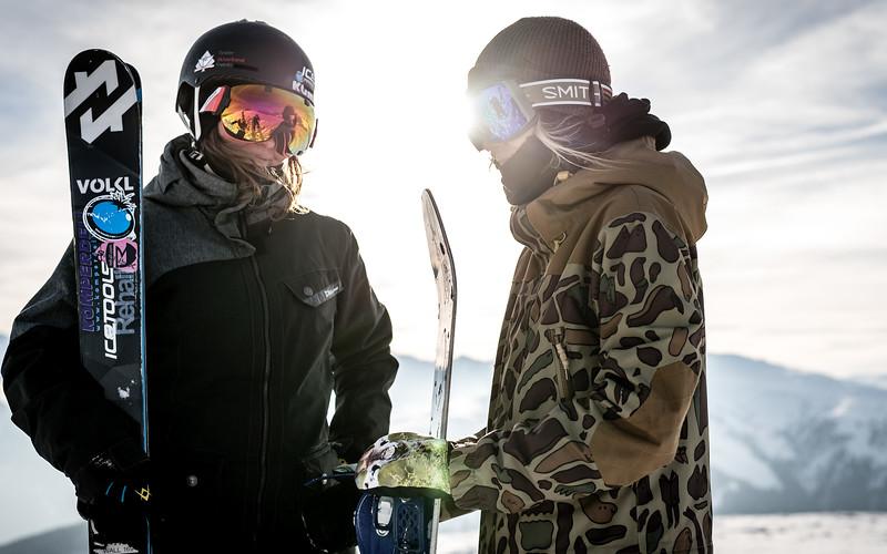 Snowpark Sessions, Lifestyle Kitzbühel, Austria 2017, Lisi & Lea