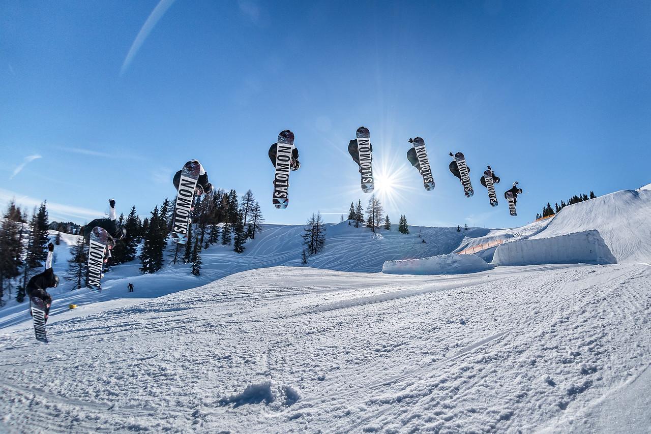 Back 1, Snowpark Sessions Alpendorf, Austria 2018,  Leon Guetala