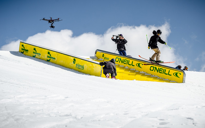 Snowpark Sessions, Freeski Planai, Austria 2015, Martin Hauck