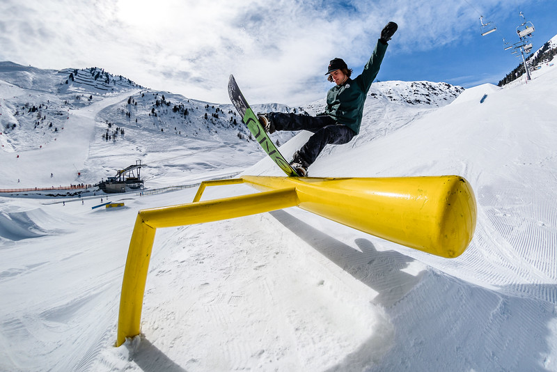 Snowpark Sessions Mayrhofen, Austria 2018, Kevin Trammer