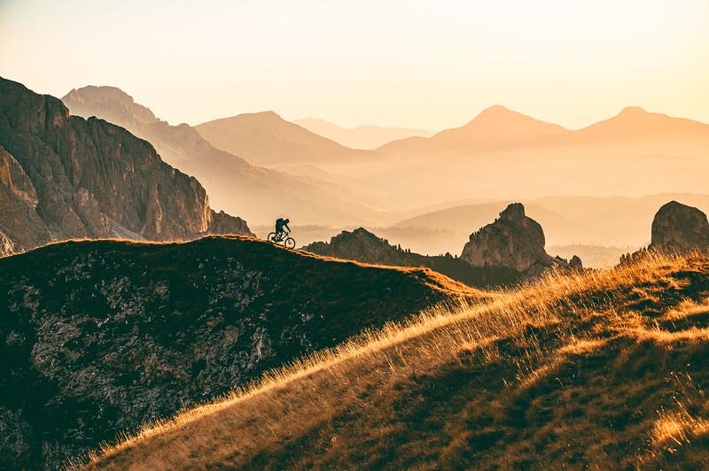Riding the Ridge, Roman Königshofer, Seiser Alm, Dolomites 2019