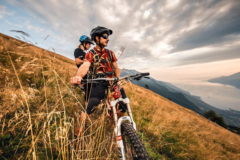 Inhale ,  Lago del Garda 2018, Antonia Dolezal & Mattia Vicentini