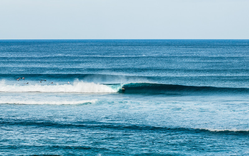 Cover Up, Surfing through the tube, Pacifico, Siargao Island, Philippines 2014