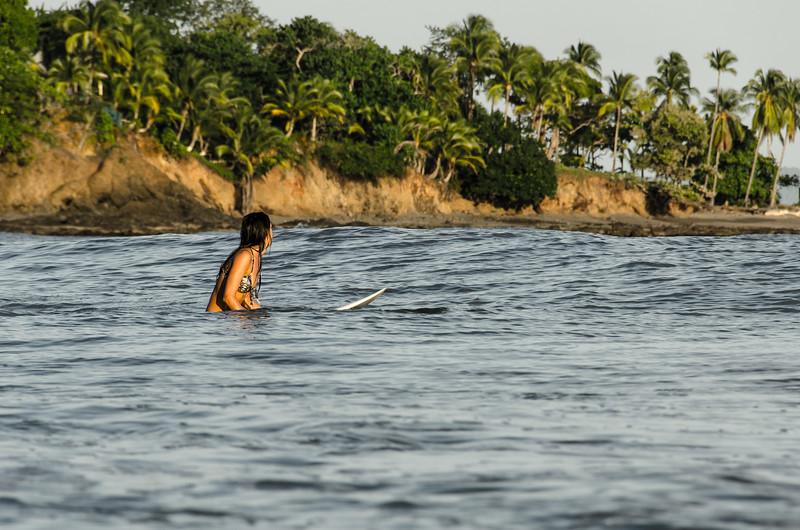 Waiting for waves, Santa Catalina, Panama 2015, Eileen Carls