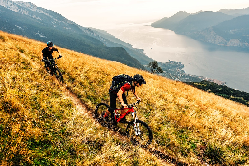 Flowtrails ,  Lago del Garda 2018, Antonia Dolezal & Mattia Vicentini