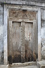 Thick wood doors are the style of choice in Stonetown