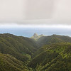 First we climbed through the valleys of West Maui