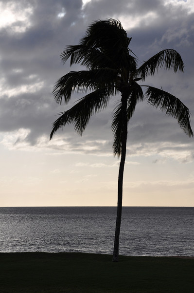 Sunset on Ka'anapali Beach