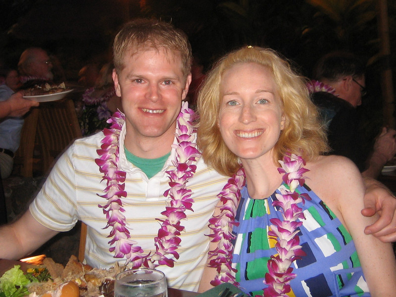 Us at the luau