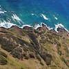 West Maui coast and the windy road