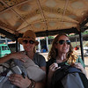 Sarah and Kirby in the Tuk Tuk to our hotel