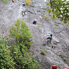 The Via Ferrata in WV is 3.5 miles long.