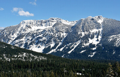 West side of Snoqualmie Pass - March 2006