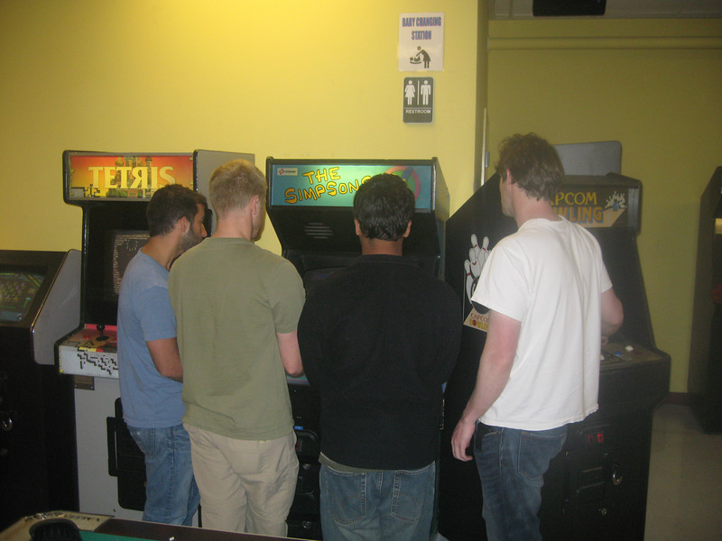 Simpsons Video game challenge to waste time before we headed into Portland