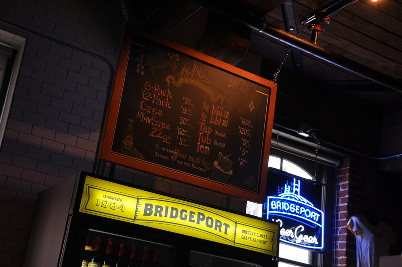 the beer list