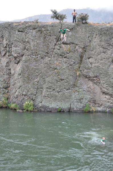 Ryan jumps