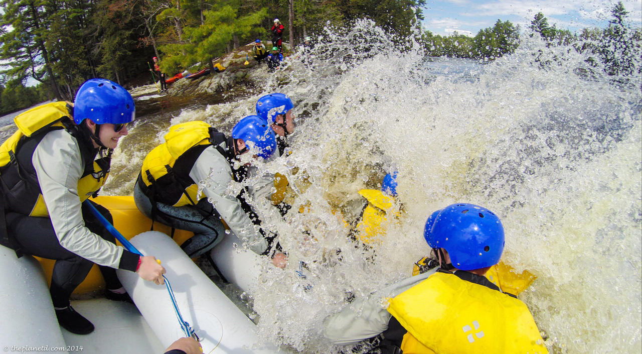 Whitewater Rafting on the Ottawa River with Owl Rafting