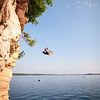 Cliff Jumping - Red Rocks Burlington VT
