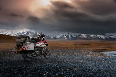 Storm Over The Altai - Mongolia