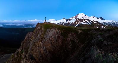 Blue Hour on the Ridge